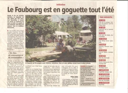 Article Journal du centre 10/05/2017